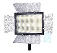 Накамерный светодиодный свет Yongnuo YN-600 со шторками + ДУ, 5500K (3200K/фильтр)!