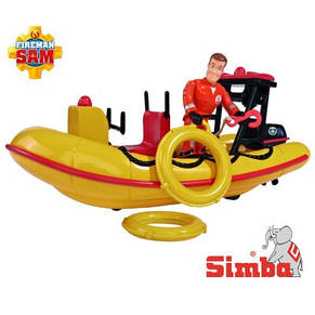 Лодка Пожарного Сэма Simba 9251660, фото 2