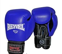 Боксерские перчатки REYVEL комбинированные 10 и 12 oz (3 цвета)