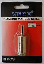 Сверло алмазное кольцевое VEKO 18*65мм