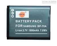 Аккумулятор для фотоаппарата Samsung BP70A, 1900 mAh.
