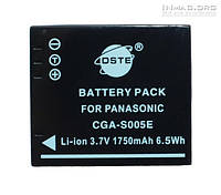 Аккумулятор для фотоаппарата Panasonic CGA-S005E, 1750 mAh.