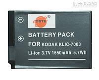 Аккумулятор для фотоаппарата Kodak KLIC-7003, 1550 mAh.