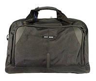Сумка дорожная, спортивная черная Refiand 88111, 36 литров, текстиль, 46*30*26 см