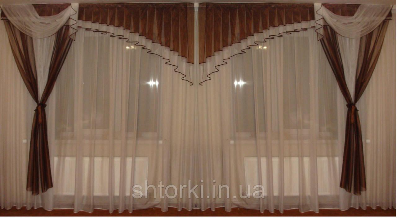 Ламбрикен Ассиметрия коричнеый 2,5м