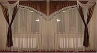 Ламбрикен Ассиметрия коричнеый 2,5м , фото 1