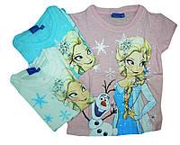 Футболка для девочек Disney, размеры 98/104,110,116,122,128,134. Арт. 62060