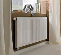 Радиатор стальной с нижним подключением 22 400x400