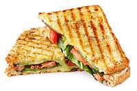 Легкий овощной сэндвич