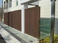 Забор из термодерева