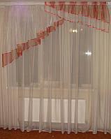 Ламбрекен  ассиметричный 2-2,5м