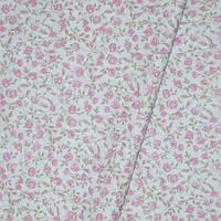 Декор мелкие цветочки розовый