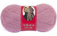 Пряжа для вязания мохер нако анкара тифик