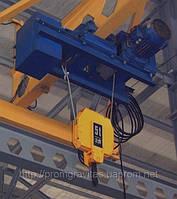 Тельфер СVAT 10 г/п 1 000 кг. ,CVAT с пониженной строительной высотой полиспаст 2/1 ,CVAT полиспаст 4/1