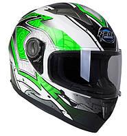 Шлем GEON 968 Интеграл Swift White-Green