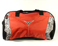 Сумка дорожная, спортивная красная Oiwas 7000, текстиль, 50*32*28 см