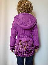 Куртка удлиненная роза, фото 3