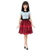 Кукла Барби Модница 2016/ Barbie Fashionistas Doll 19 Ruby Red Floral - Original