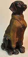 Статуэтка лабрадор  с сердечком от студии LadyStyle.Biz