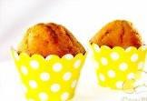Набор для капкейков кенди-бара горошек желтый