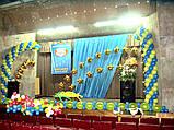 Оформлення повітряними і гелієвими кульками театральних сцен і відкритих майданчиків, фото 3
