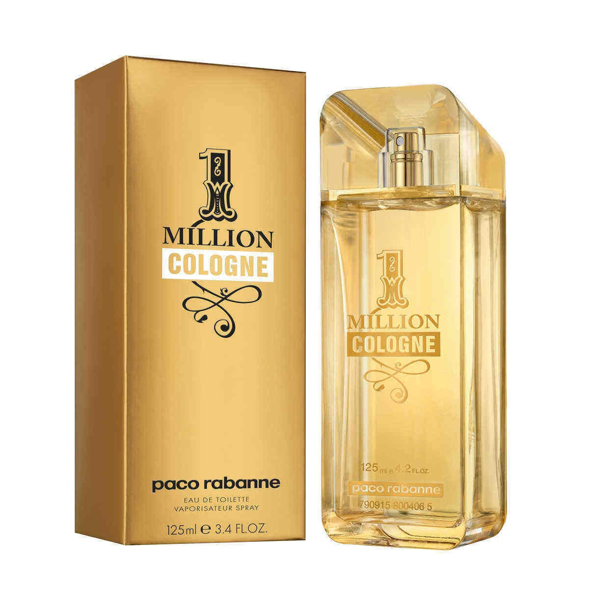 Paco Rabanne 1 Million Cologne туалетная вода 125 ml. (Пако Рабанн 1 Миллион Коллаген)