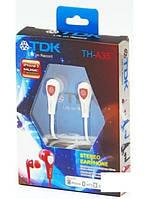 Наушники вакуумные TDK TH-A35 (white)