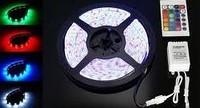 Светодиодная лента 5050 RGB без влагозащиты 30 светодиодов на 1м