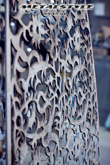 Декоративные решетки из металла