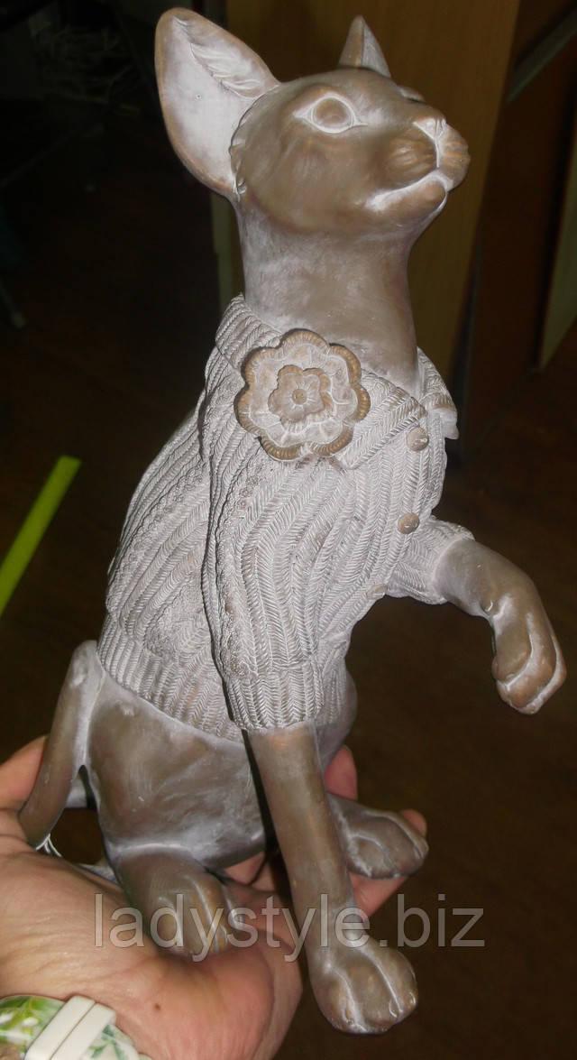 купить оригинальную статуэтку бульдога собачки  фигурка подарок мужчине коллекция