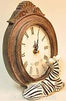 Экзотические настольные часы с зеброй, фото 1