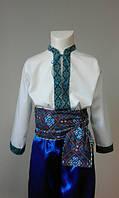 Карнавальный костюм Украинца син. (110-116см)