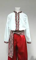Карнавальный костюм Украинца красн. (122см)