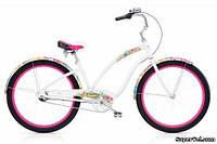 Велосипед женский Electra Chroma 3i, белый