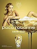 Paco Rabanne Lady Million Eau My Gold парфюмированная вода 80 ml. (Пако Рабанна Леди Миллион Еау Май Голд), фото 6