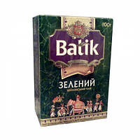 Чай Батик Зеленый цейлонский 100г зел. (30)