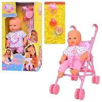 Детский пупсик Маша 5312 с коляской