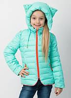 Модная весенняя куртка  для девочки Рокси , с сумочкой