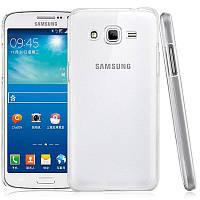 Чехол силиконовый Ультратонкий для Samsung Galaxy Grand Prime G530H, G5308 Прозрачный