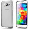 Чехол силиконовый Ультратонкий для Samsung Galaxy Grand Prime G530H, G5308 Прозрачный-серый