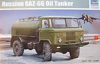 1:35 Сборная модель топливозаправщика ГАЗ-66, Trumpeter 01018