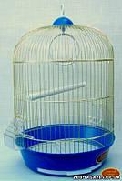 "Золотая клетка для птиц 309 Цилиндр ""золото"", (33*53 см.)"