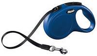 Поводок рулетка Flexi New CLASSIC, Tape Leash (5м/15кг)