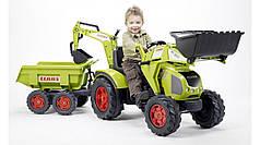 Дитячий трактор на педалях Falk 1010W Claas Axos