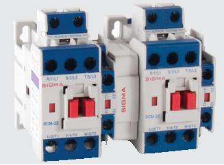 Реверсивный контактор магнитный пускатель на 40 ампер 30 кВт