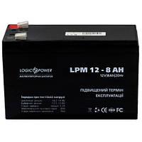 Гелевый аккумулятор LogicPower LPM 12-8.0 AH