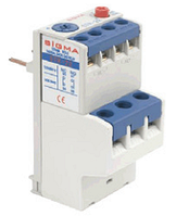Тепловое реле для контактора, пускателя, теплушка на 1А, диапазон 0,63-1