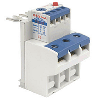 Тепловое реле для контактора, пускателя, теплушка на 10 А, диапазон 7-10, фото 1