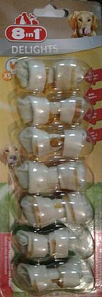 Жевательная косточка с куриным мясом  XS 7шт/уп, фото 2