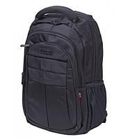 Большой городской рюкзак Witzman черный, фото 1